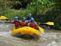 Rafting and zipline adventure in Tlapacoyan kids