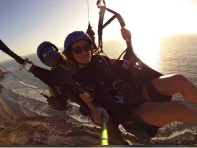 Paragliding flight in Ensenada 1 hour