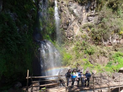 Hike to the Rainbow Waterfall of Puebla from CDMX