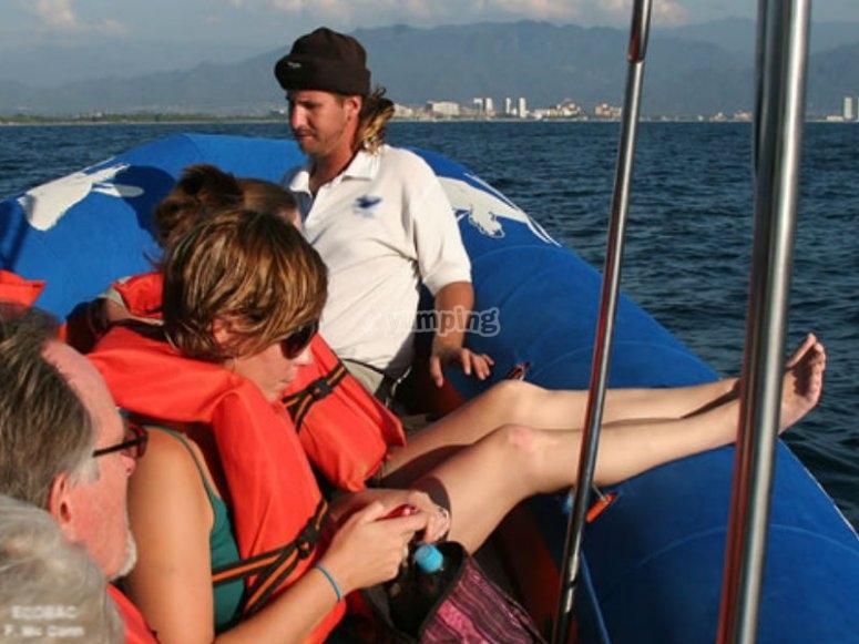 Embarcaciones cómodas