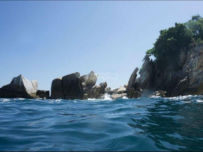 Playa Majahuitas