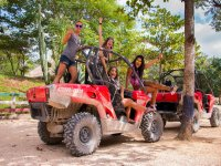 Buggy adventure in Cenote and ruins in Tulum