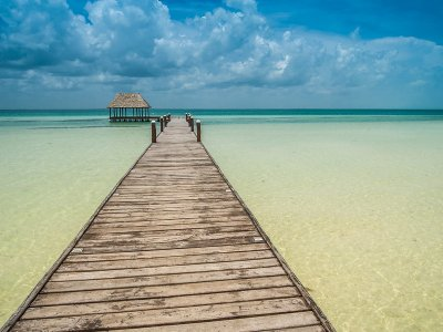 Holbox Island private tour 2 pax from Tulum 10 hr
