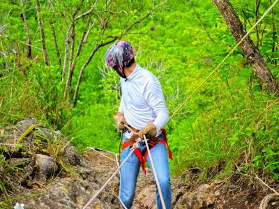 Rappel in the Jalcomulco ravine with transportation 6h