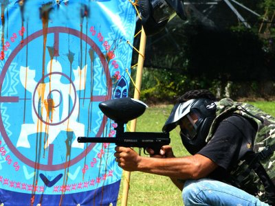 Gotcha game 100 bullets and Oaxtepec spa
