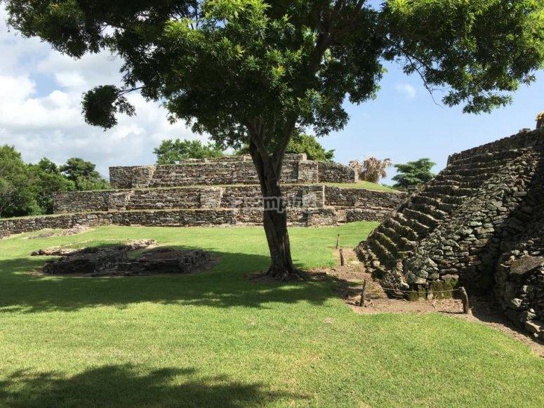 Pre-Hispanic city