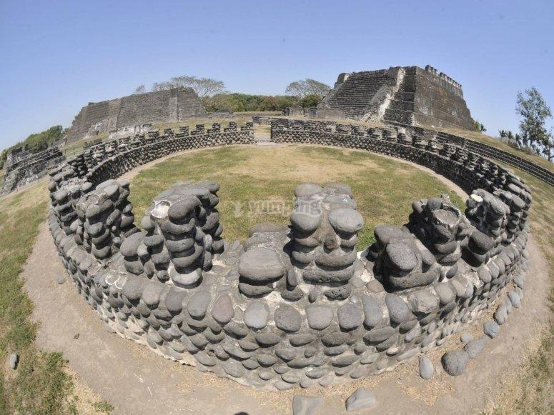 Spectacular pre-Hispanic site
