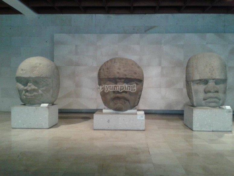 Toltec heads