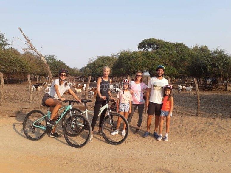 Alquila tu bicicleta en familia