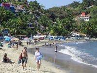 Paseo por la playa de Sayulita