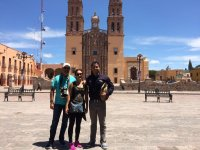 In front of Our Lady of Sorrows