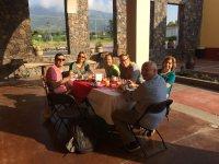 In the Tourist Hostel Corralejo