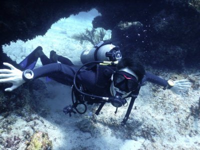 SSI Scuba Diver course with 2 dives in Tulum