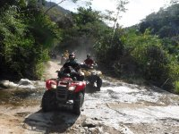 Tour of the river in an ATV
