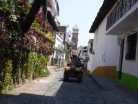 Route in an ATV by the city of Puerto Vallarta