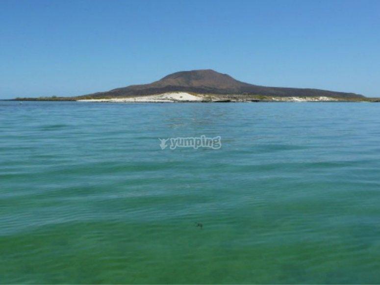 Panoramic view of Coronado Island in BCS