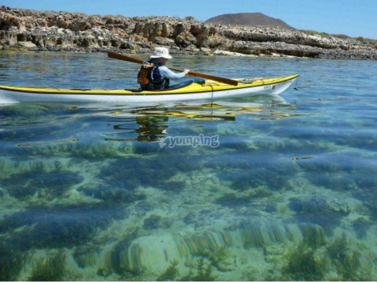 Enjoy the crystalline waters of Isla Coronado