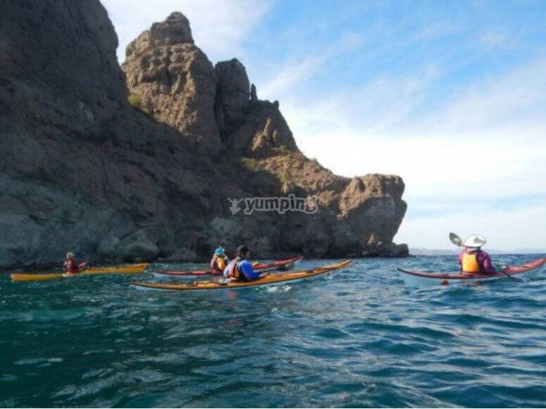 Kayak Experience in Punta Coyote
