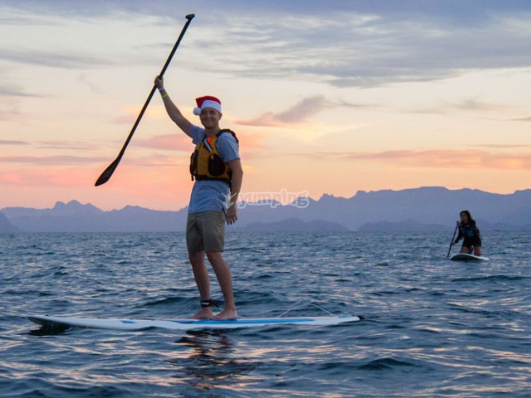 Stand Up Paddle in the Bay of Loreto