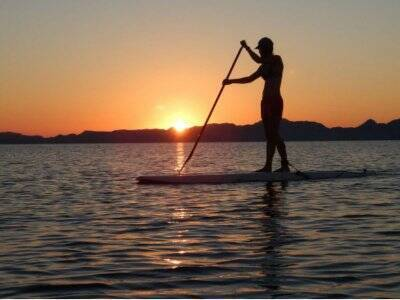 Stand Up Paddle en atardecer de Loreto 3 horas