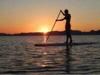 Stand up Paddle experience at Loreto sunsets