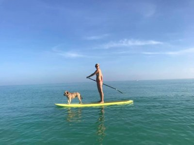 Paddle surf in Laguna Kaan Luum in Tulum 6 hours
