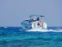 Boat trip for children