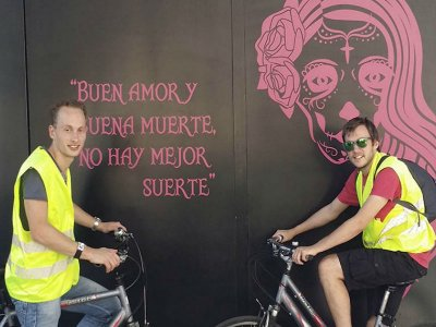 Condesa, Roma and Polanco bike tour 4h