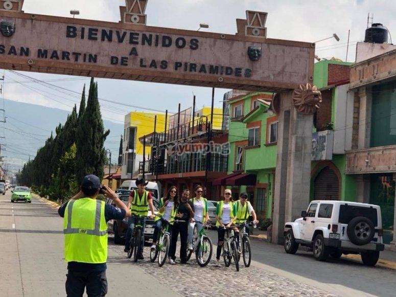 Visitando teotihuacán