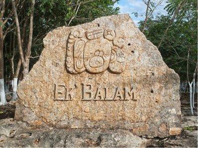 Visita guiada a ruinas de Ek Balam y cenote 7 hrs