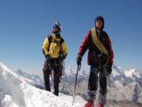 High mountain hiking