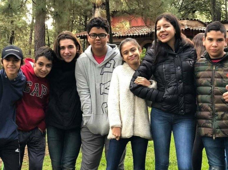 De campamento con los amigos