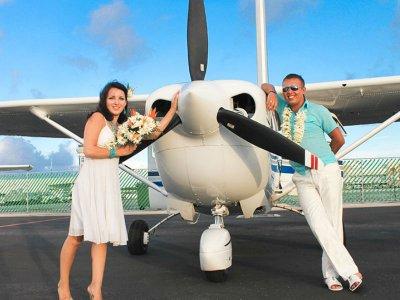 Vuelo en avioneta al atardecer para 2 en Cancún