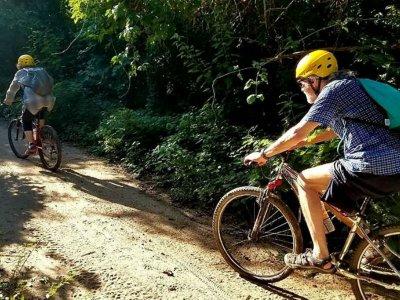 Ruta en bici Parque Nal. Huatulco para niños 8 km