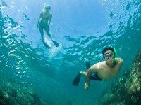 Snorkel en Santa Maria en Catamarán por 4 horas