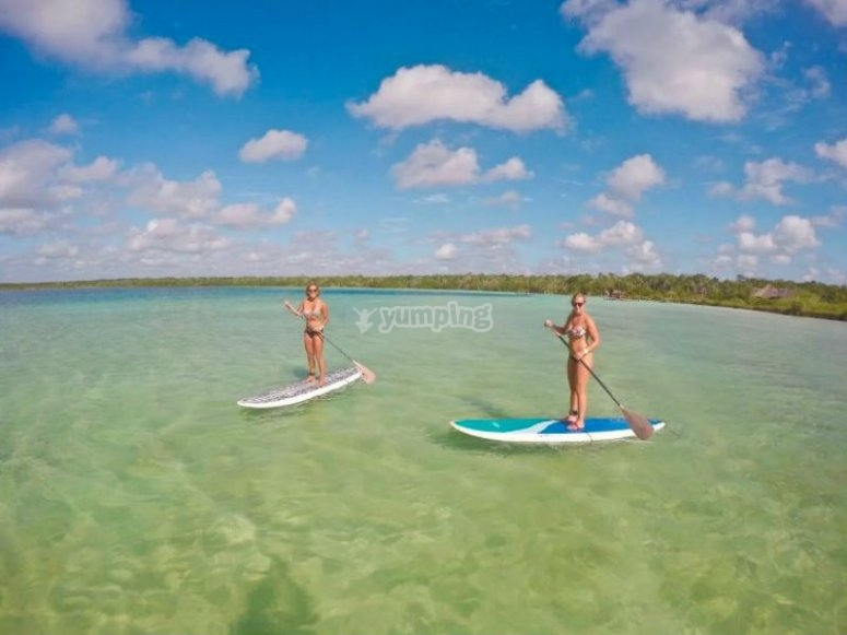 Navigate along the beaches of the Mexican Caribbean