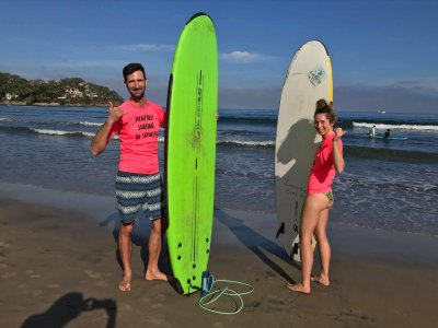 Private surf lesson in Sayulita 2h