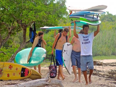 Surf tour in Sayulita beaches 4 hours