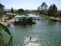 Chlorinated pond