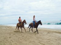 Country horseback tour in Ixtapa with breakfast 1h