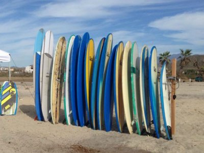 Surfboard rental in Playa Cerritos 1 day