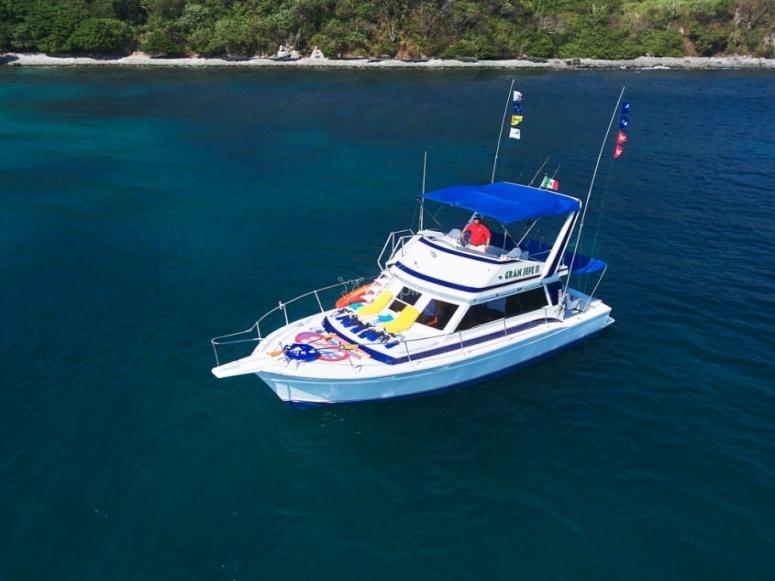 Navegando en el Pacífico