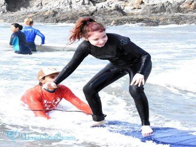 Clínica de surf en Playa Cerritos 3 días