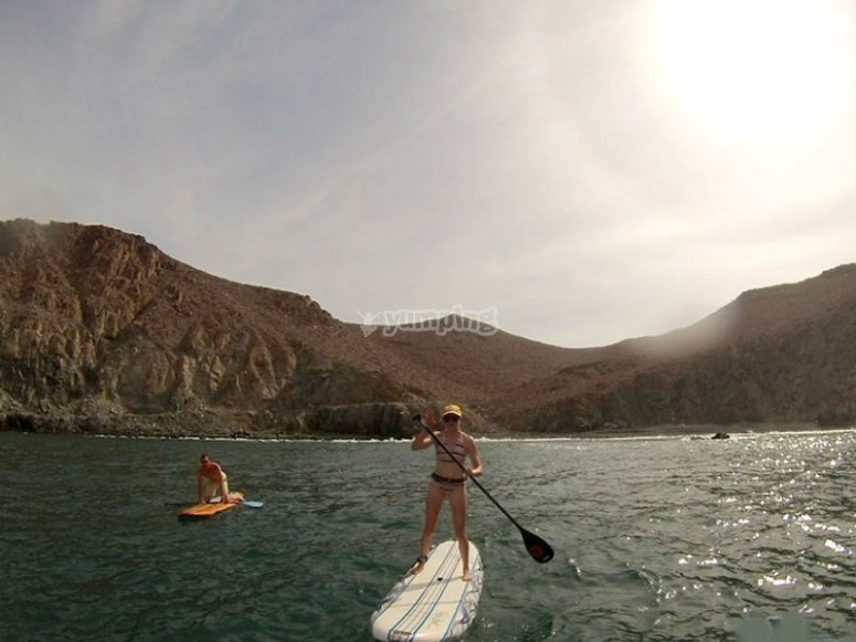 Live the SUP adventure in the Mexican Pacific