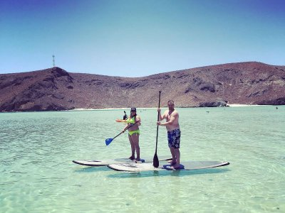 Stand Up Paddle Excursion at Balandra Beach 8 h