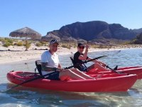 Tour de kayak a Bahía Balandra 8 horas