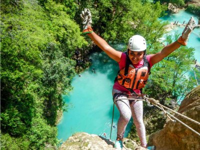 Rappel and trekking in Minas Viejas with lunch 1 day