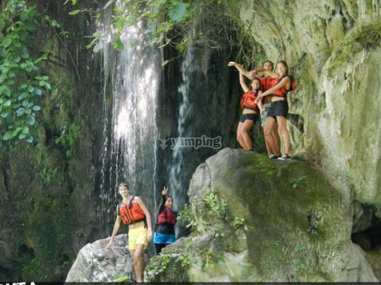Hermosa cascada