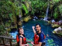 Tour to Puente de Dios Tamasopo with food 8 hours