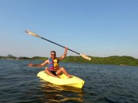Kayak y ecoturismo 2 noches en cabaña en Catemaco